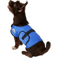 TechNiche International Evaporative Cooling Dog Coat, Royal Blue, Small