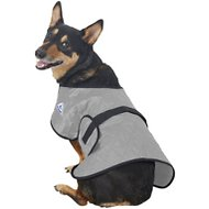 TechNiche International Evaporative Cooling Dog Coat, Silver, Medium