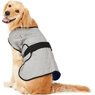 TechNiche International Evaporative Cooling Dog Coat, Silver, Large