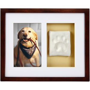 Pearhead Pawprints Dog & Cat Wall Frame and Impression Kit