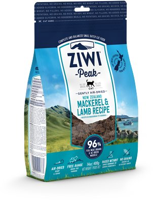 4. Ziwipeak Air-Dried Mackerel and Lamb