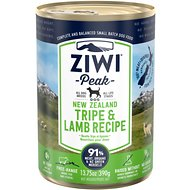 Ziwi Peak Tripe & Lamb Canned Dog Food, 13.75-oz, case of 12