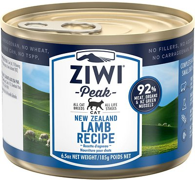 5. ZiwiPeak Lamb Recipe Canned Cat Food