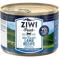 Ziwi Peak Lamb Recipe Canned Cat Food, 6.5-oz, case of 12