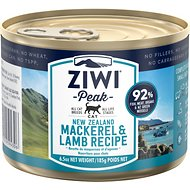 Ziwi Peak Mackerel & Lamb Canned Cat Food, 6.5-oz, case of 12