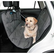 Dog is Good Hammock Car Seat Cover, Grey