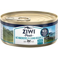 Ziwi Peak Mackerel & Lamb Canned Cat Food, 3-oz, case of 24