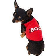 Parisian Pet The Boss Dog & Cat T-Shirt, X-Small