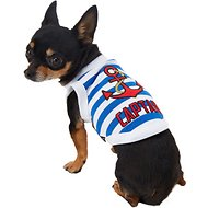 Parisian Pet Captain Dog T-Shirt, XX-Small