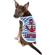 Parisian Pet Captain Dog & Cat T-Shirt, Large