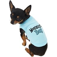 Parisian Pet Mommy's Boy Dog T-Shirt, XX-Small