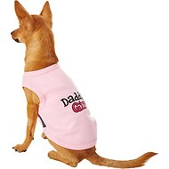 Parisian Pet Daddy's Girl Dog T-Shirt, Medium