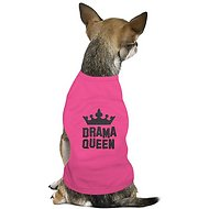 Parisian Pet Drama Queen Dog T-Shirt, Medium