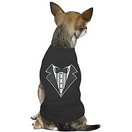 Parisian Pet Tuxedo Dog & Cat T-Shirt, XX-Small