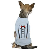 Parisian Pet Suspender Dog & Cat T-Shirt, X-Small