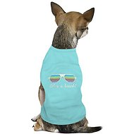 Parisian Pet Life's a Beach! Dog & Cat T-Shirt, Medium