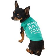 Parisian Pet Sleep Eat Poop Dog T-Shirt, XX-Small