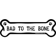 "Imagine This Company ""Bad To The Bone"" Magnet, Bone Shape"