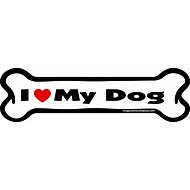 "Imagine This Company ""I Love My Dog"" Magnet, Bone Shape"