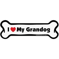 "Imagine This Company ""I Love My Grandog"" Magnet, Bone Shape"