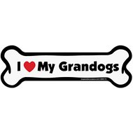 "Imagine This Company ""I Love My Grandogs"" Magnet, Bone Shape"