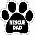 "Imagine This Company ""Rescue Dad"" Magnet"
