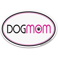"Imagine This Company ""Dog Mom"" Magnet, Oval Shape"