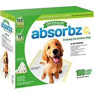 Absorbz Optimum Training Pads, 100 count