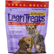 NutriSentials Lean Treats Nutritional Large Breed Dog Treats, 10-oz bag