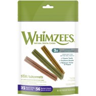WHIMZEES Stix Dental Dog Treats, X-Small, 56 count