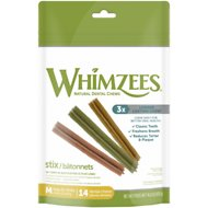 WHIMZEES Stix Dental Dog Treats, Medium, 14 count