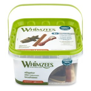 WHIMZEES Variety Pack Grain-Free Large Dental Dog Treats, 14 count