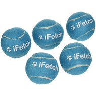 iFetch Tennis Balls, Mini, 5 Pack
