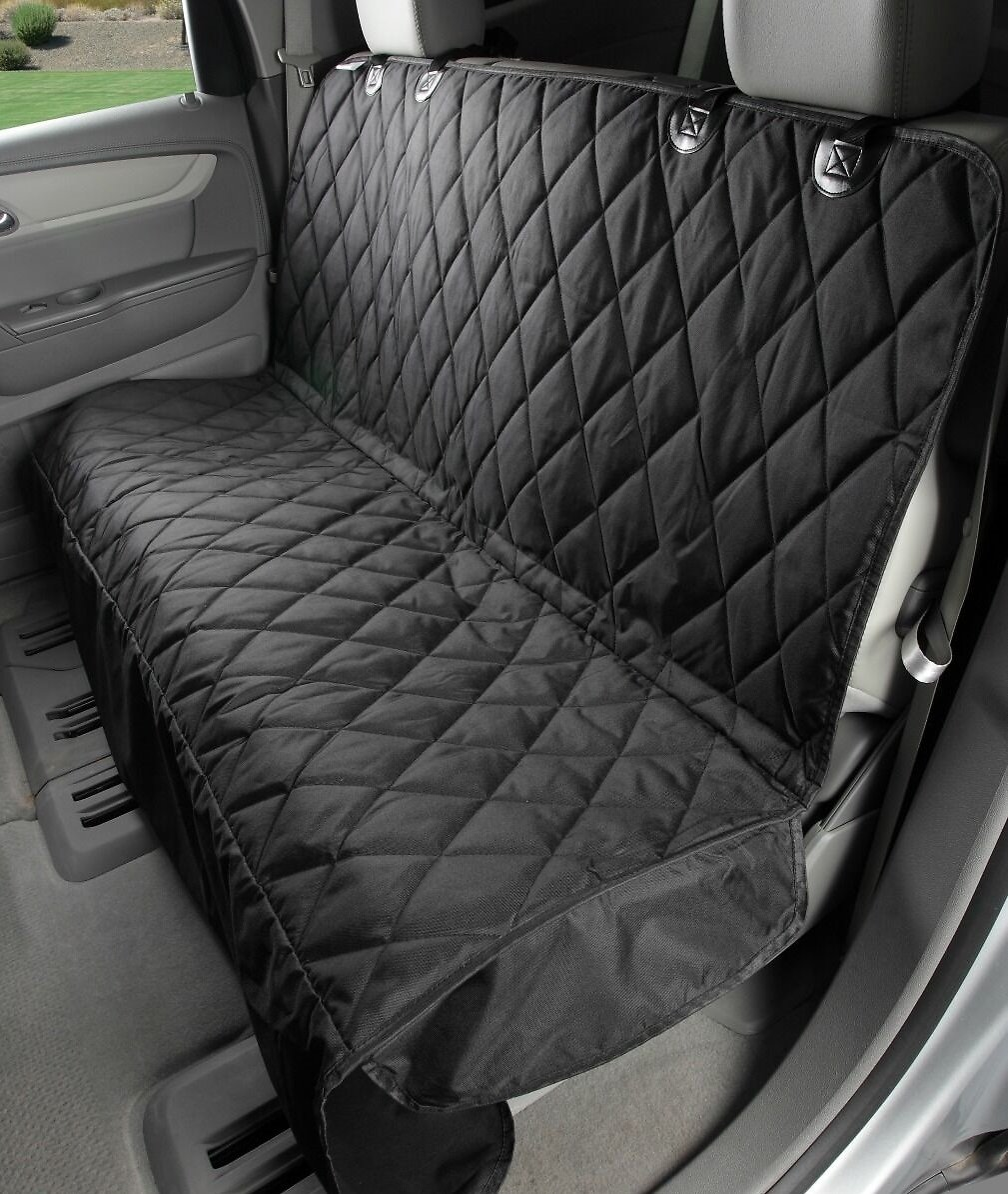 Rear Bench Seat ~ Knines rear bench seat cover with hammock regular black