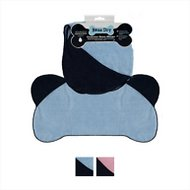 Bone Dry Bone Shaped Microfiber Bath Towel with Pockets, Blue