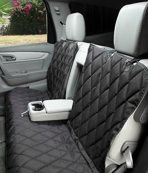 4Knines Split Rear Seat Cover with Hammock