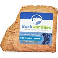 Barkworthies Small Root Dog Chew Toy, 1 count