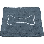 Soggy Doggy Microfiber Doormat, Large, Grey