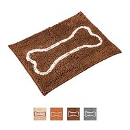 Soggy Doggy Slopmat Microfiber Placemat, Dark Chocolate