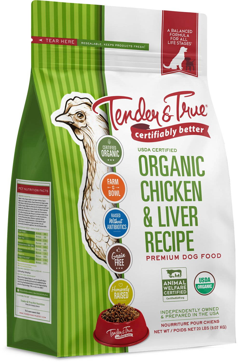Tender True Dog Food Reviews
