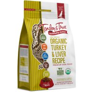 Tender & True Organic Turkey & Liver Recipe Grain- Free Dry Dog Food, 11-lb bag