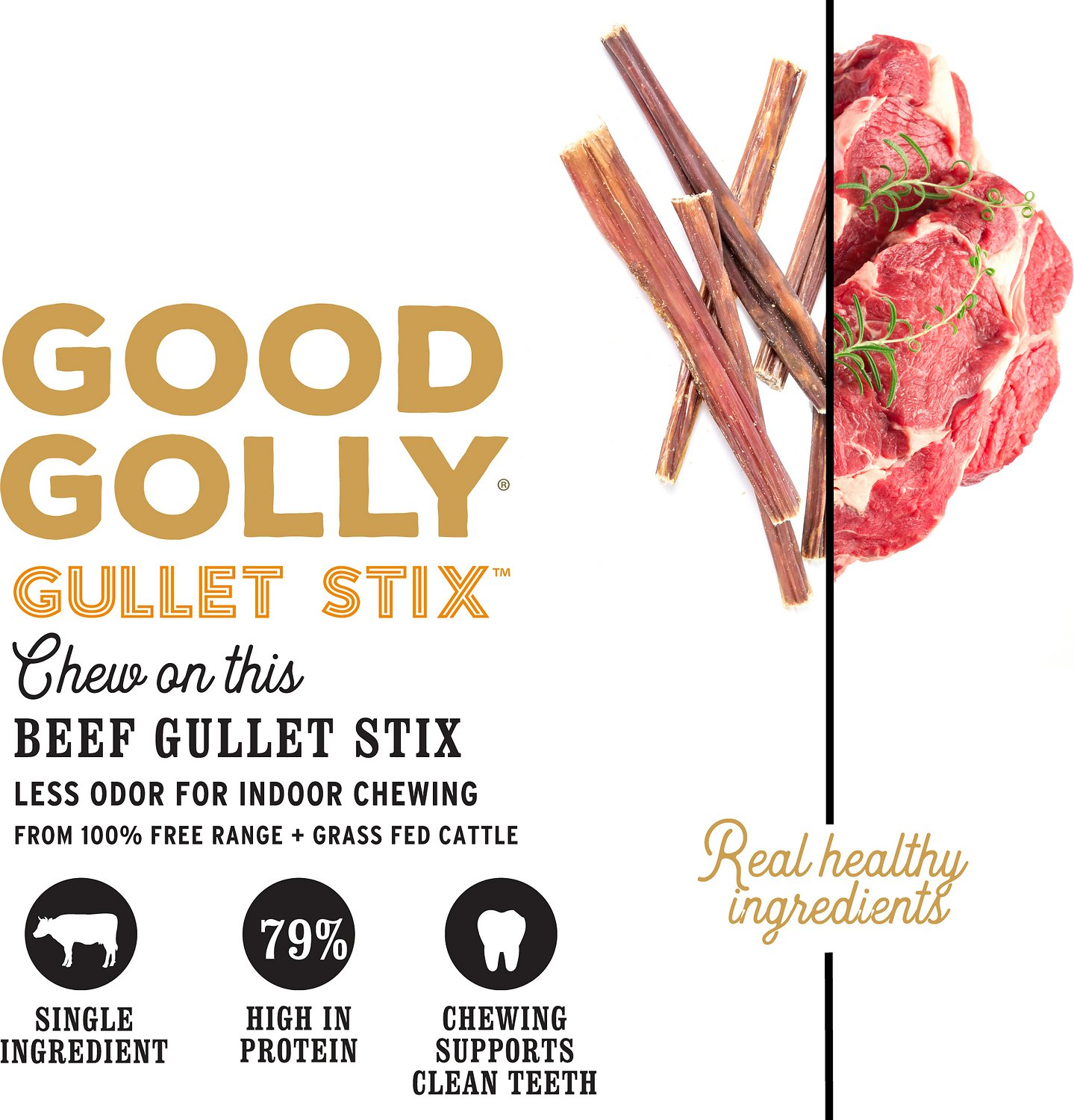 i and love and you good golly gullet sticks dog treats 6 inch 1 lb bag. Black Bedroom Furniture Sets. Home Design Ideas