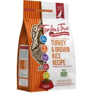 Tender & True Antibiotic-Free Natural Turkey & Brown Rice Recipe Dry Dog Food, 23-lb bag