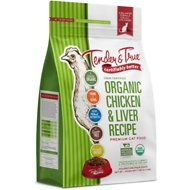 Tender & True Organic Chicken & Liver Recipe Grain-Free Dry Cat Food