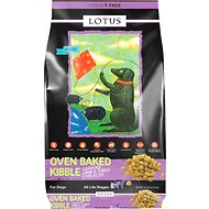 Lotus Oven-Baked Lamb & Turkey Liver Recipe Grain-Free Dry Dog Food, 10-lb bag