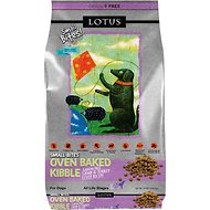 Lotus Oven-Baked Lamb & Turkey Liver Small Bites Recipe Grain-Free Dry Dog Food, 10-lb bag