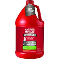 Nature's Miracle Advanced Just For Cats Stain & Odor Remover Sunny Lemon, 1-gal bottle