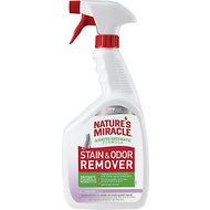 Nature's Miracle Just For Cats Stain & Odor Remover Spray, Lavender Scent, 32-oz bottle