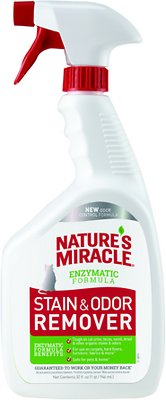 Nature's Miracle Just For Cats Stain & Odor Remover Spray, 32-oz bottle
