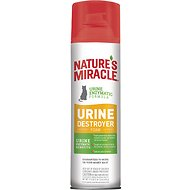 Nature's Miracle Cat Urine Destroyer Foam Aerosol Spray, 17.5-oz bottle